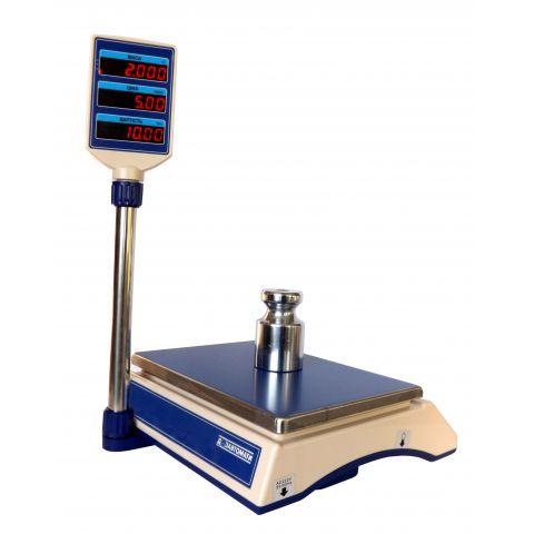 Весы торговые настольные электронные ВТНЕ-30Т2-1