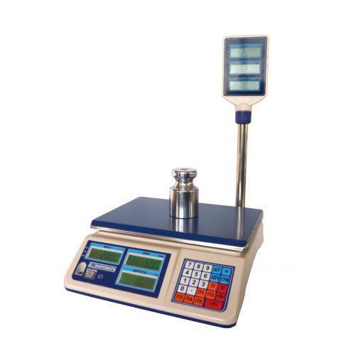 Весы торговые настольные электронные ВТНЕ-15Т2K-1